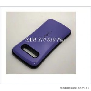 Iface mall  Anti-Shock Case  For Samsung  Galaxy  S10  6.1'' Purple