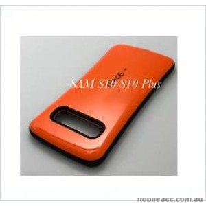 Iface mall  Anti-Shock Case  For Samsung  Galaxy  S10  6.1'' Orange