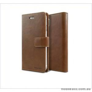Korean Mercury Bluemoon Diary  Wallet Case For Samsung  Galaxy  S10 5G Brown