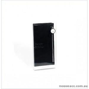 HANA Bestie Zipper Diary Wallet Case For Samsung Galaxy S10 5G - Black Black