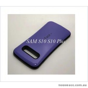 Iface mall  Anti-Shock Case  For Samsung  Galaxy  S10  Plus Purple