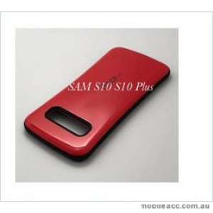 Iface mall  Anti-Shock Case  For Samsung  Galaxy  S10  Plus Red