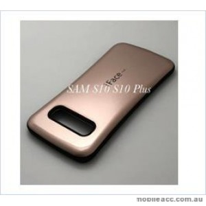Iface mall  Anti-Shock Case  For Samsung  Galaxy  S10  Plus Rose Gold