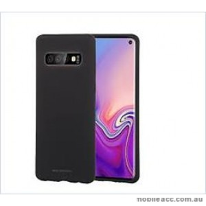 Korean Mercury  Soft Feeling  Jelly Case For Samsung  Galaxy  S10  Plus Black