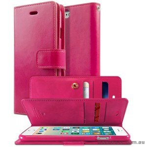 Korean Mercury Goospery Mansoor Wallet Case Cover iPhone 7/8 4.7 Inch - Hot Pink