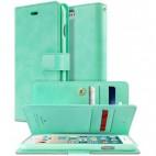 Korean Mercury Goospery Mansoor Wallet Case Cover iPhone 7/8 4.7 Inch - Mint Green