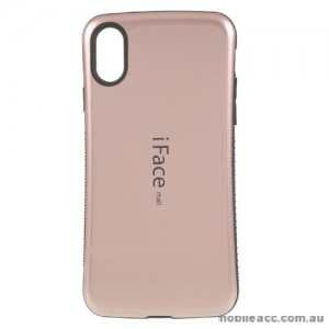 iFace Anti-Shock Case For iPhone X - Rose Gold