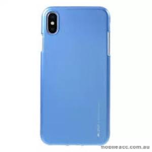 "Korean Mercury  I-Jelly Case For Iphone XR 6.1""  Blue"