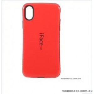 """Iface mall  Anti-Shock Case  For For Iphone XR 6.1""""  Red"""
