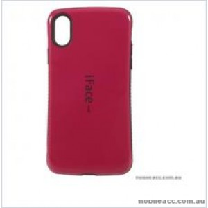 """Iface mall  Anti-Shock Case  For For Iphone XR 6.1"""" Hotpink"""