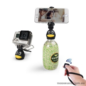 iStabilizer Q3 Mini Portable Selfie Stick Bottle Head Stick With Bluetooth Shutter Control 10m Universal Phones Using