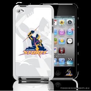 NRL Licensed Melbourne Storm Watermark Back Case for iPod Touch 4