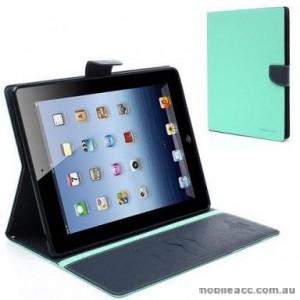 Mercury Fancy Diary Wallet Case For iPad Pro 11 inch 2020  Mint Green