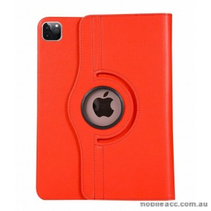 360 Degree Rotating Case for Apple iPad Pro 12.9 inch 2020  Red