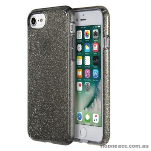 ORIGINAL Speck Presidio Clear Glitter Case for iPhone 7 Clear with Dark Grey Glitter