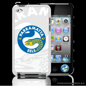 NRL Licensed Parramatta Eels Watermark Back Case for iPod Touch 4