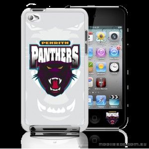 NRL Licensed Penrith Panthers Watermark Back Case for iPod Touch 4
