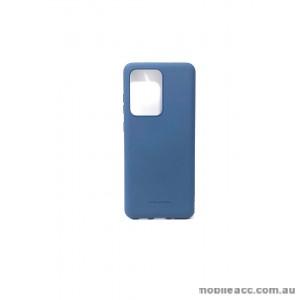Hana Soft Feeling Jelly Case For Samsung S20 Ultra  6.9 inch Blue