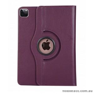 360 Degree Rotating Case for Apple iPad Pro 12.9 inch 2020  Purple