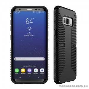 ORIGINAL Speck Presidio GRIP Case For Samsung Galaxy S8 Plus - Black/Black