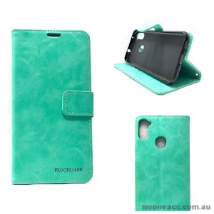 Mooncase Diary Wallet Case For Samsung A11 6.4 inch  A115 Mint Green
