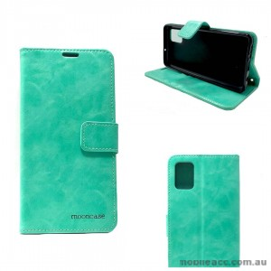 Mooncase Diary Wallet Case For Samsung A51 6.5 inch  A515  Mint Green
