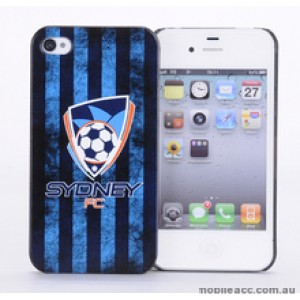 Licensed A-League Sydney FC Grunge Back Case for iPhone 4/4S