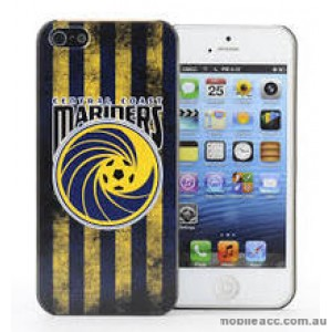 Licensed A-League Central Coast Mariners Grunge Back Case for iPhone 5/5S