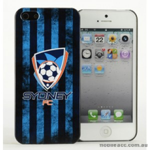 Licensed A-League Sydney FC Grunge Back Case for iPhone 5/5S