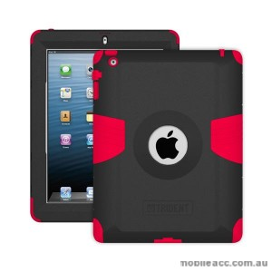 Trident Kraken AMS Heavy Duty Case for iPad 2/3/4 - Red