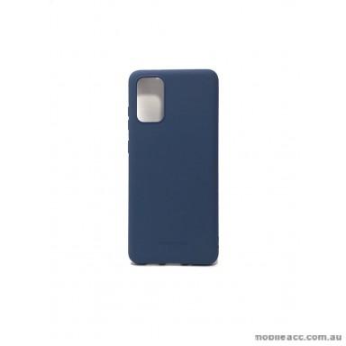 Hana Soft Feeling Jelly Case For Samsung S20 Plus 6.7 inch  Blue