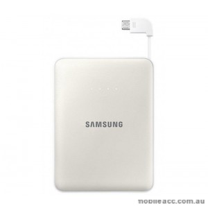 Genuine Samsung Battery Pack Power Bank 8400mAh - White