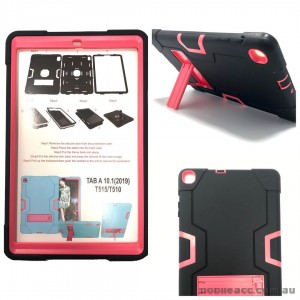 Tough Case with stand  For Samsung TAB A 8.0 2019 T290/T295 Hotpink