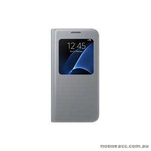Samsung Galaxy S7 edge S View Cover Silver