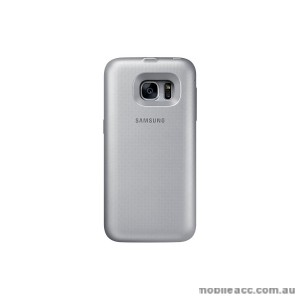 Genuine Samsung Galaxy S7  Backpack Battery Case - Silver