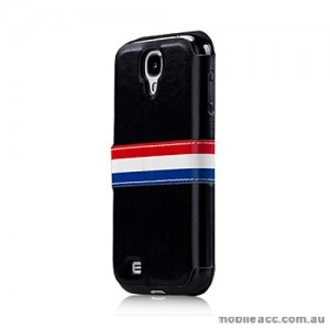 Momax Stand View French Style Case for Samsung Galaxy S4 i9500 - Black