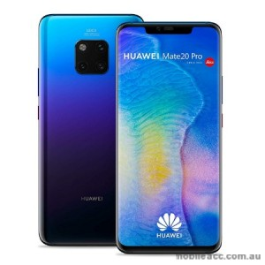 4D Curued  Tempered Glass Screen Protector for Huawei  Mate 20 Pro BLK