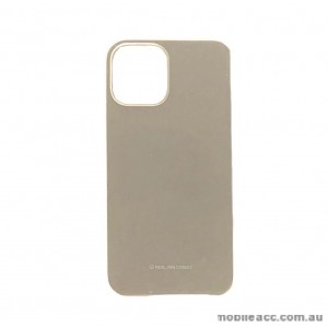 Genuine MOLAN CANO TPU Jelly Case For iPhone 12 5.4inch  Gold