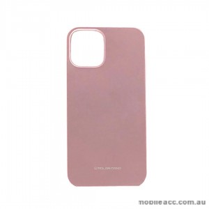 Genuine MOLAN CANO TPU Jelly Case For iPhone 12 5.4inch  Rose Gold