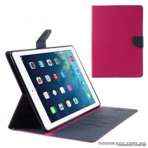 Mercury Goospery Fancy Diary Case for Apple iPad 10.2 inch 2019  Hot Pink