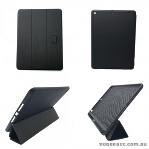 Foldable Magnetic Smart Cover for Apple iPad 10.2 inch 2019  Black