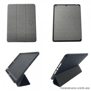 Foldable Magnetic Smart Cover for Apple iPad 10.2 inch 2019  Grey