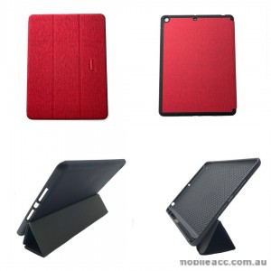 Foldable Magnetic Smart Cover for Apple iPad 10.2 inch 2019  Red