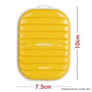 Momax 7800mAh Super Mini Power Bank 2.4A Output - Yellow