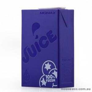 Momax iPower Juice Plus Dual Output Powerbank - Purple