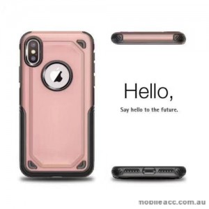 Anti-Shockproof Heavy Duty Case For Iphone XR 6.1'  Rose Gold