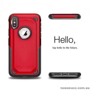 Anti-Shockproof Heavy Duty Case For Iphone XR 6.1'  RED