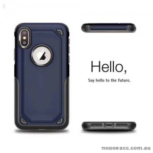 Anti-Shockproof Heavy Duty Case For Iphone XR 6.1'  Navy Blue