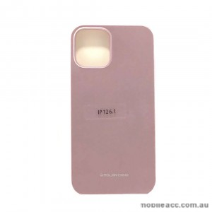 Genuine MOLAN CANO TPU Jelly Case For iPhone 12 6.1inch  Rose Gold