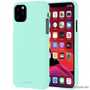 Genuine Goospery Soft Feeling Jelly Case Matt Rubber For iPhone11 Pro MAX 6.5' (2019)  Mint